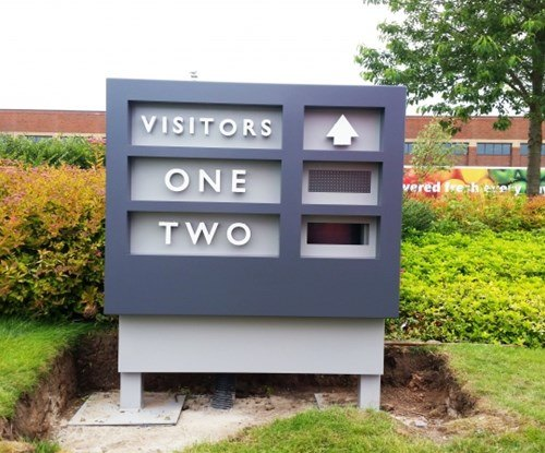 Exterior sign by Signs Express Birmingham