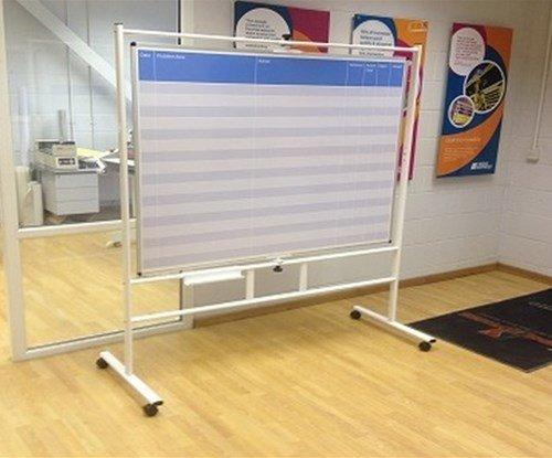 Printed mobile whiteboard