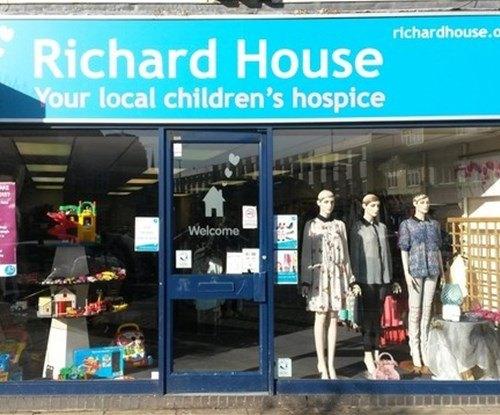 Exterior sign for Richard House, Children's Hospice