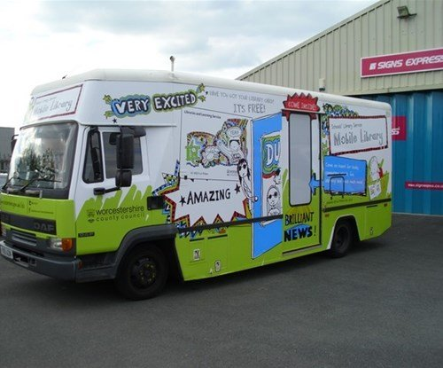 WCC library bus new images June 2015