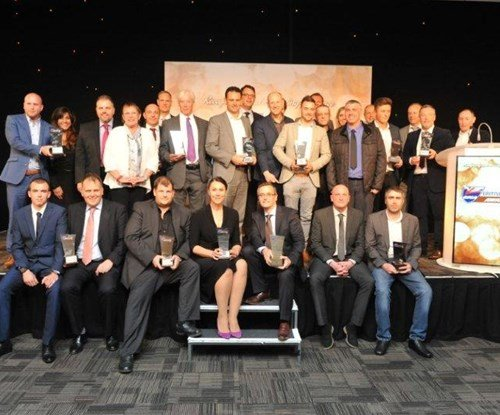 All of the winners at the British Signs and Graphics awards