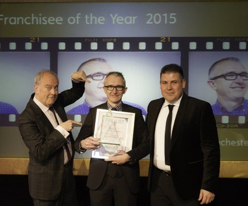 Lee Eaton, Signs Express (Manchester), Franchisee of the Year 2015