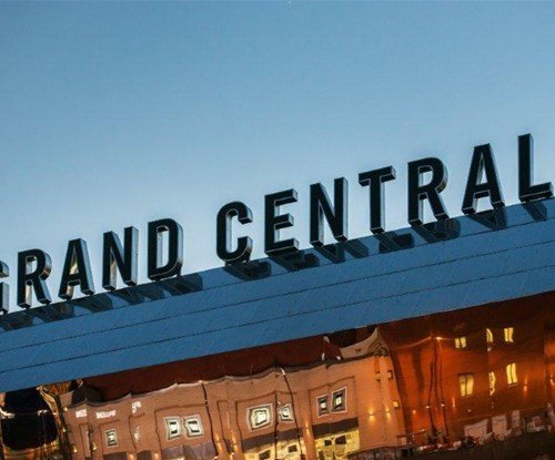 Illuminated Grand Central Sign