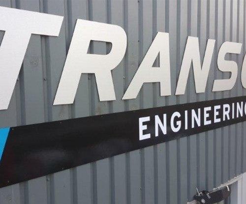 Rebranded Transcal signage