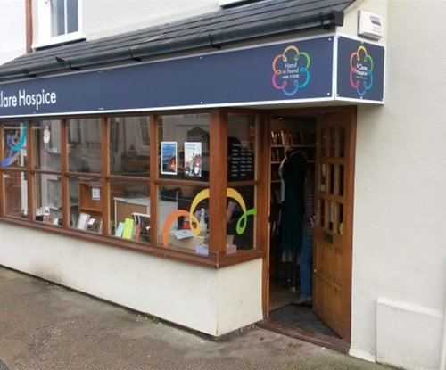 Great Dunmow shop fascia & window graphics
