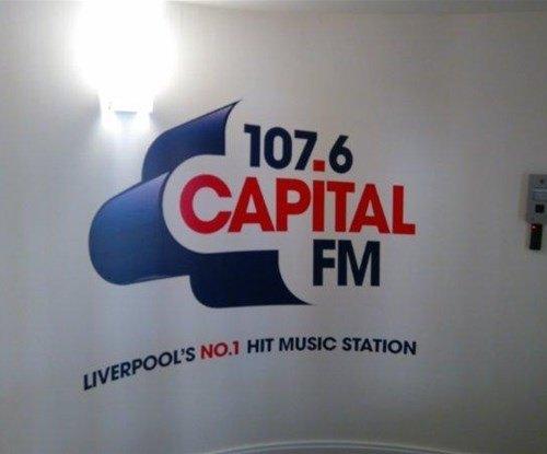 Wall Graphics for Capital FM Radio