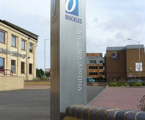 Signage produced for Buckles Solicitors