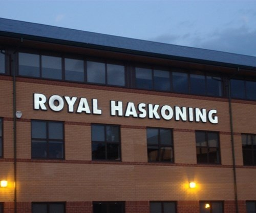 Royal Haskoning exterior sign