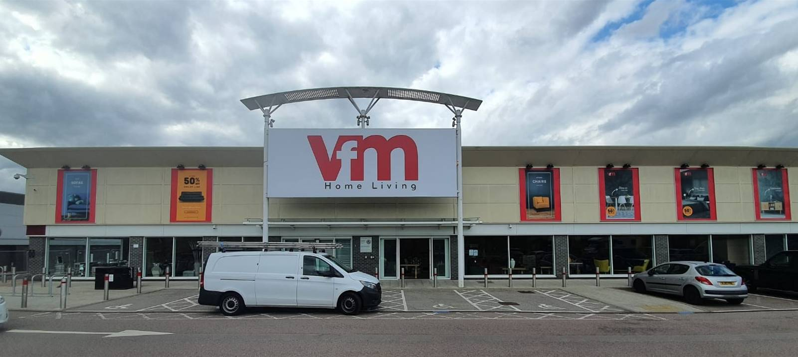 New store VFM Home Living at Queensgate Centre, Harlow