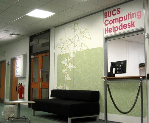 Decorative displays for Bath University