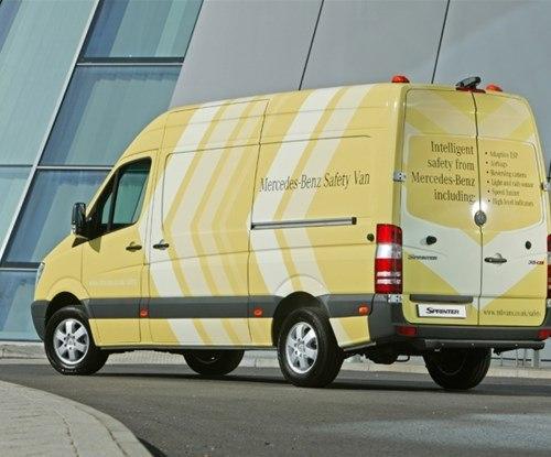 Mercedes Benz Vito safety van