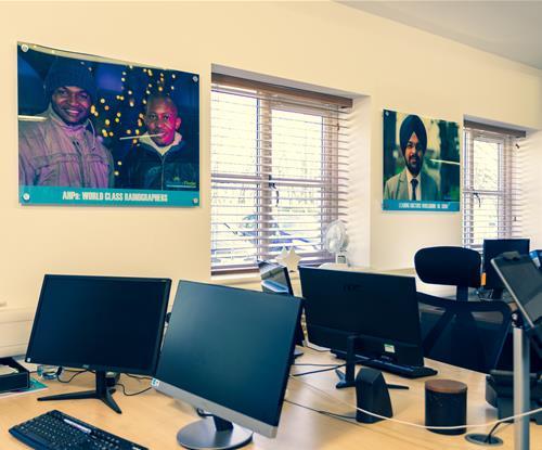 Internal Office Wall Acrylics