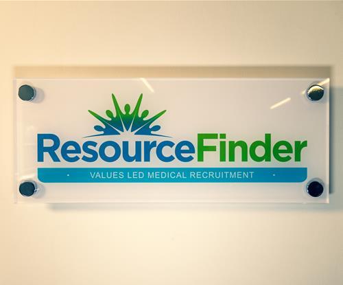 Resource Finder Logo Wall Plaque