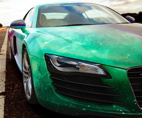 Signs Express Northampton Wrap an Audi R8 Close Up