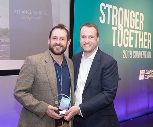 Craig Tiley Sign Awards Presentation