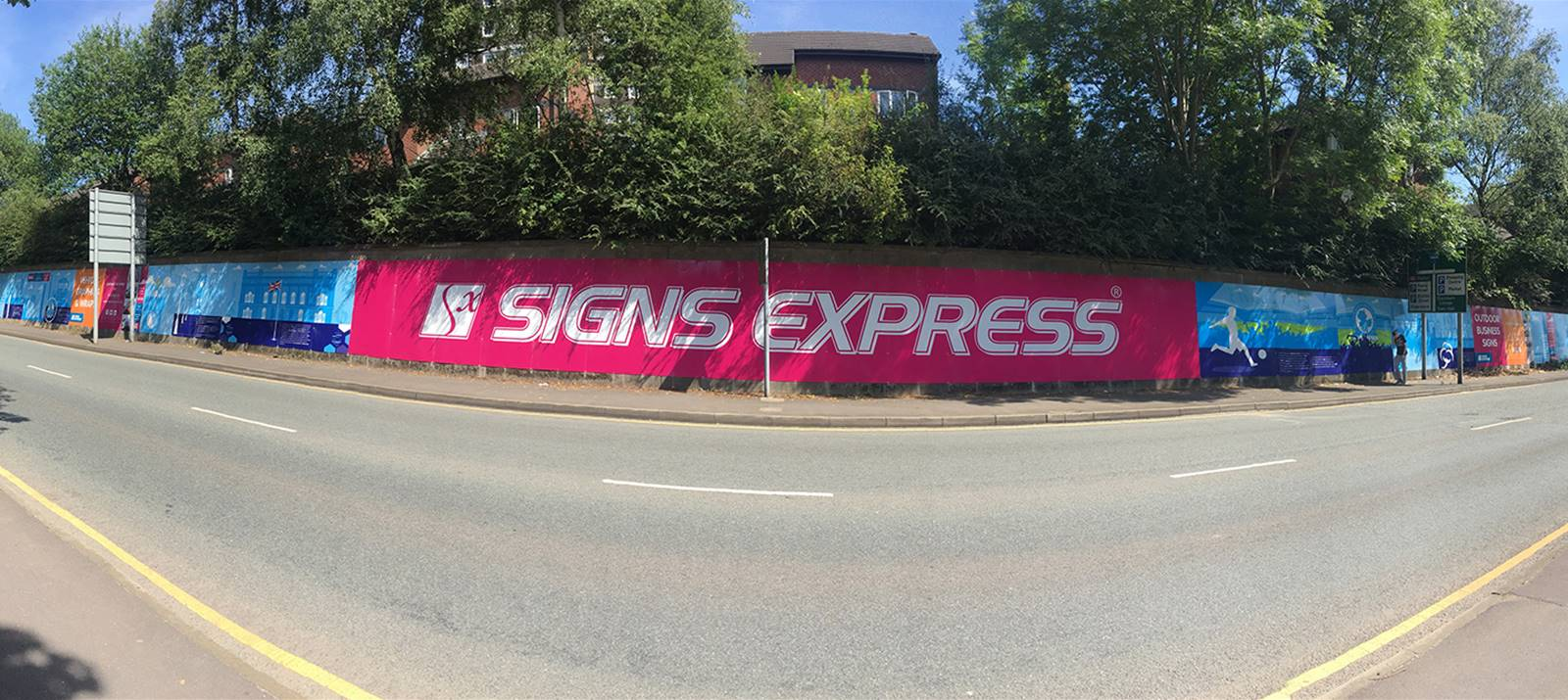 Full Colour Signage, Advertising Hoarding, Outdoor Graphics