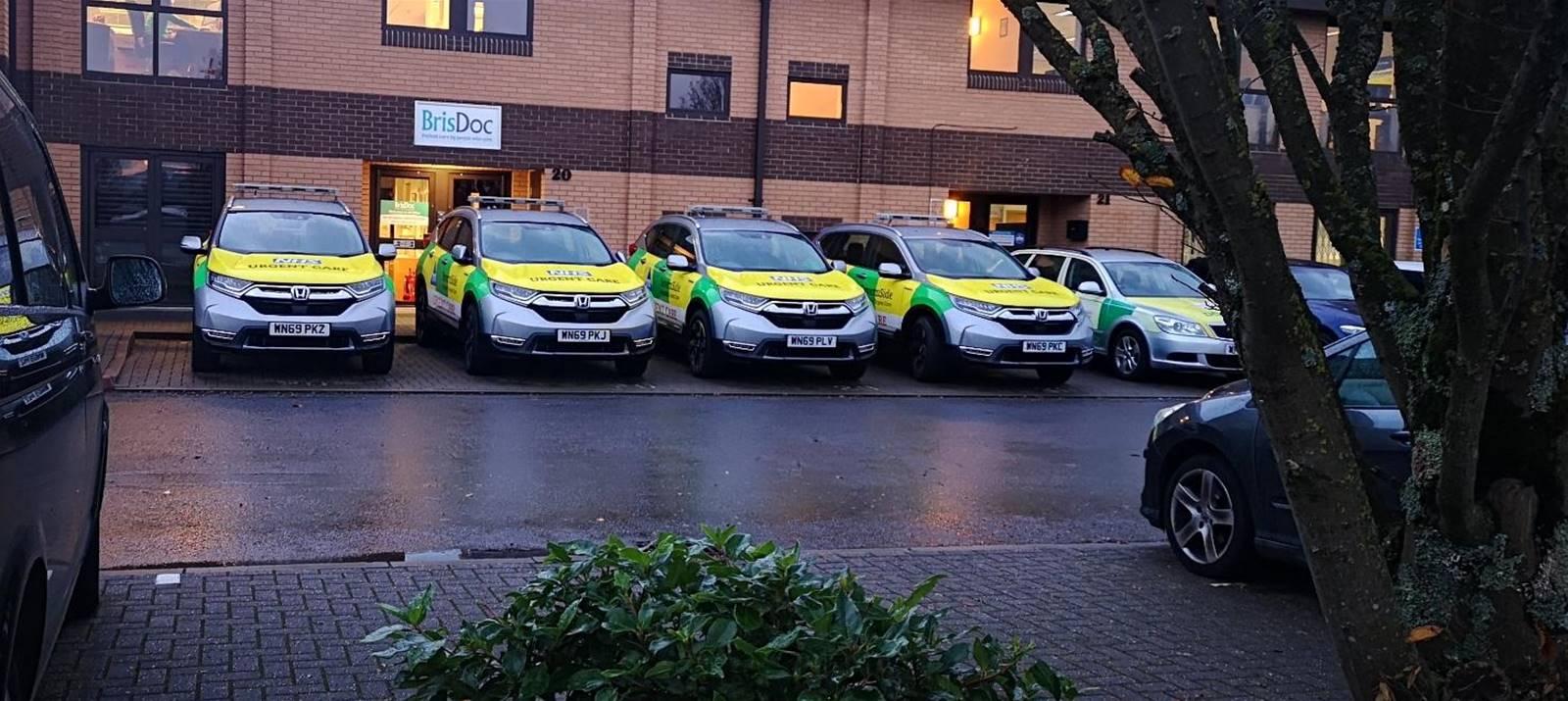 BrisDoc urgent care vehicle fleet