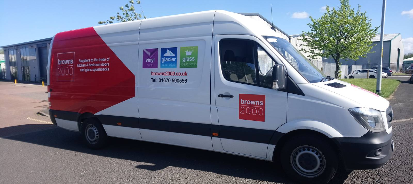 3 vans in 3 days for Signs Express Newcastle