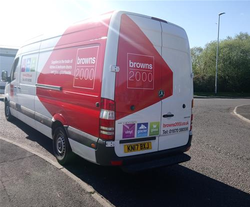 Van rear