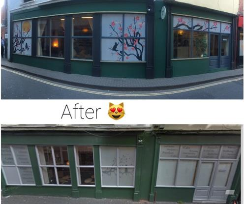 Before and After Shop Signs in Bristol