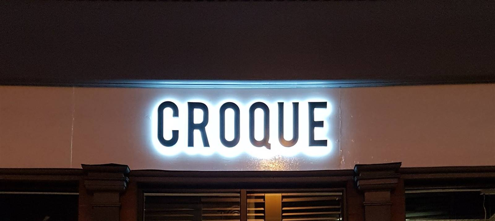 Graphics & Signage for Croque Monsieur York