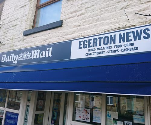 Daily Mail Signage