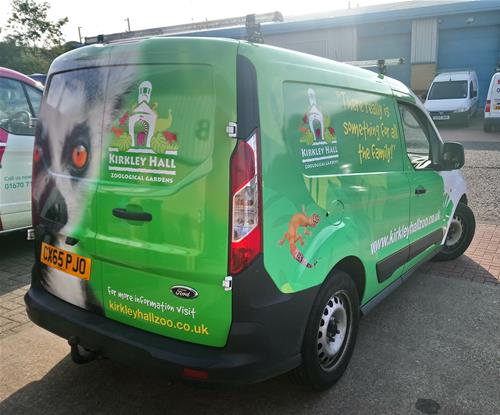 Van Livery for Kirkley Hall