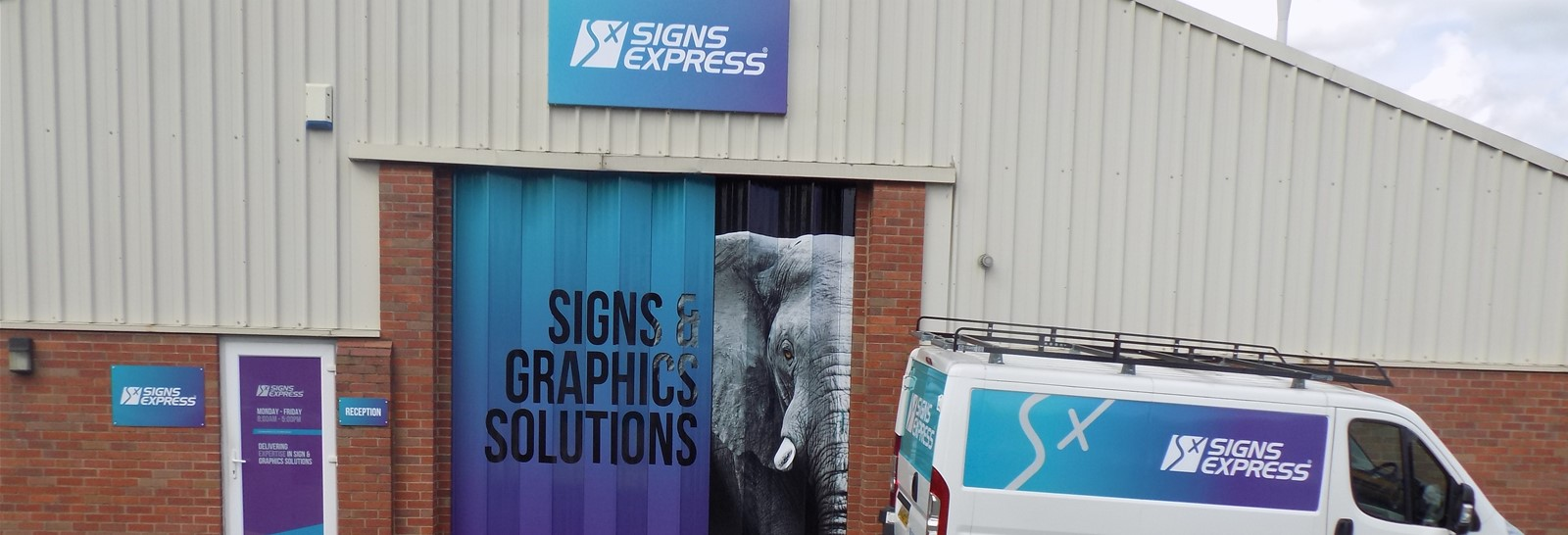 Rebrand at Signs Express Worcester