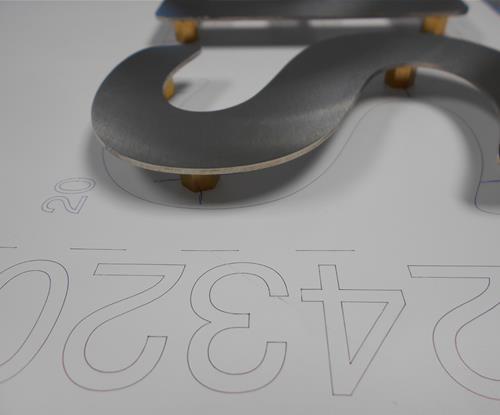 Flat Cut Letters, Built Up Letters, Letters, Signs, Business Signs, New Business Signs