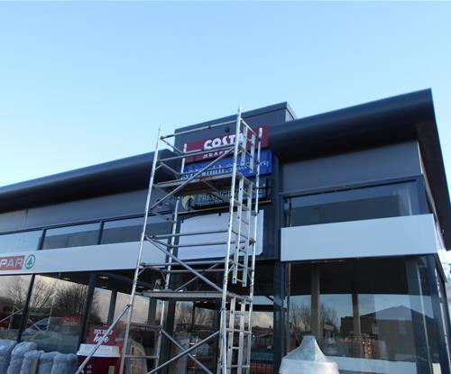 Signage Leeds, Dibond, Panels, Aluminium, Shop Signage, Trays, Business Signs, Signage, Graphics