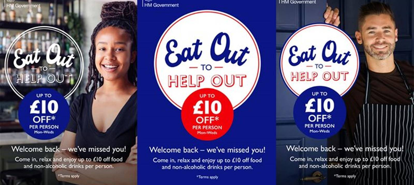 """""""Eat out, to help out"""""""