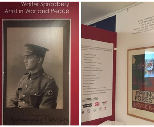 Walter Spradbery exhibition at Epping Forest Museum