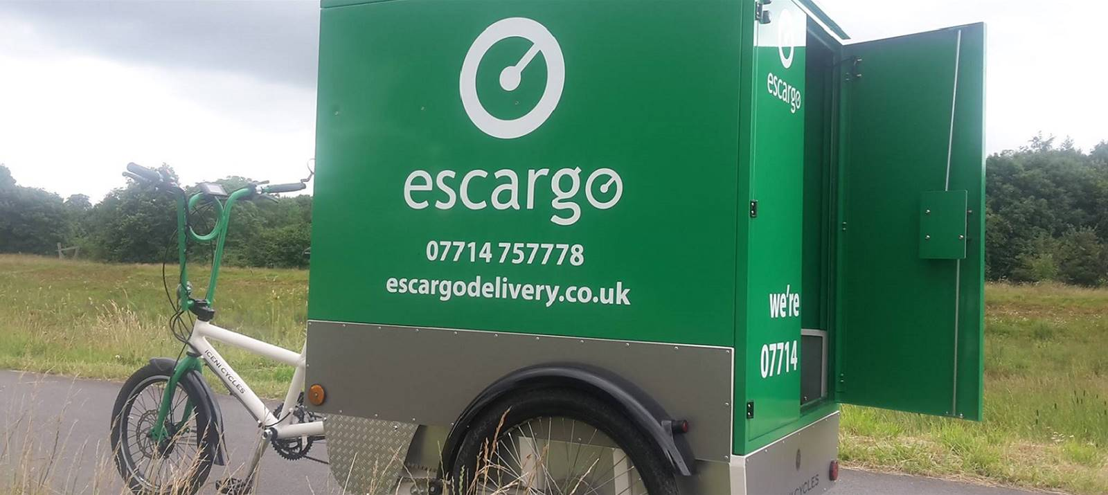 Escargo - delivery by electric bike