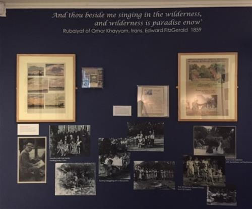 The 'Wilderness' - quotations and reproduction documents