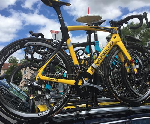 Froomey's winning wheels