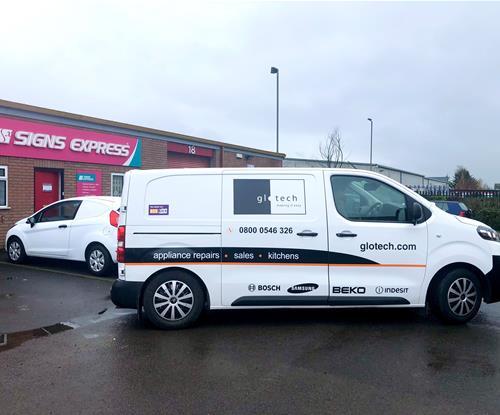 Vehicle Graphics for Glotech UK 1