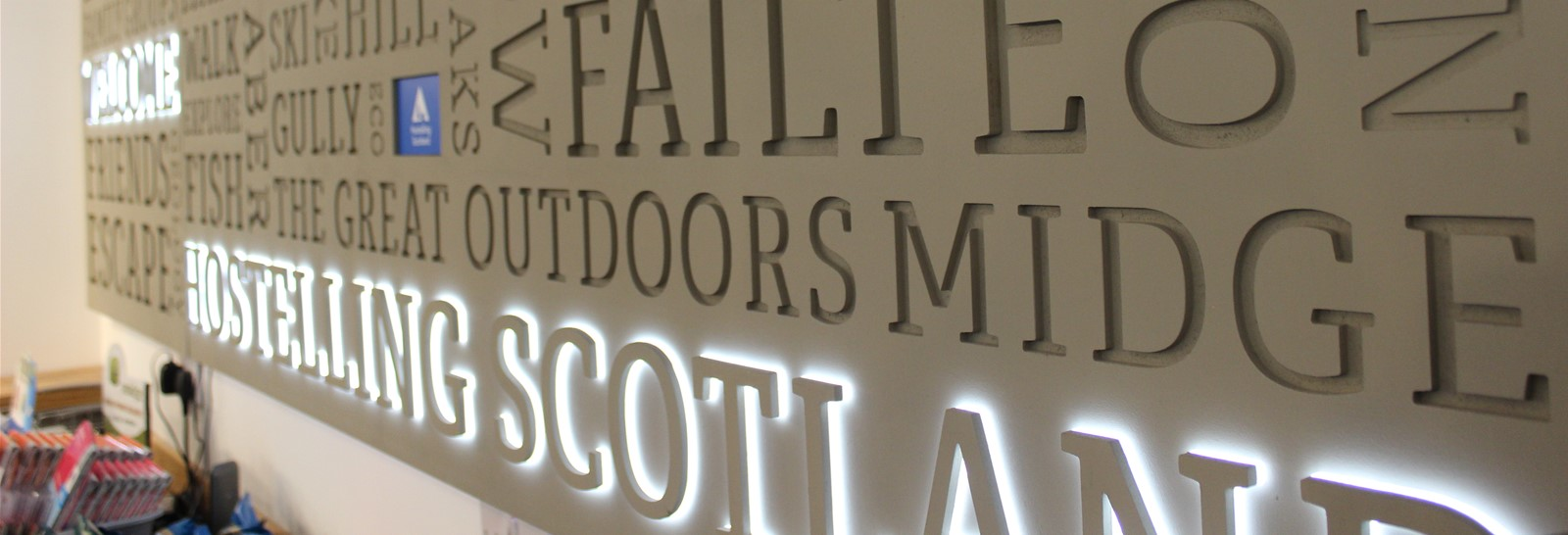 3D Routed Illuminated Sign