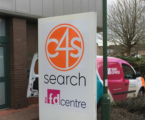 Outdoor Sign for C4S Swindon