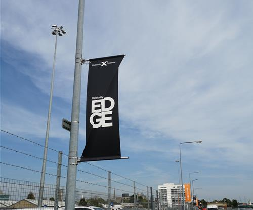 Celebrity Edge Flag Banners