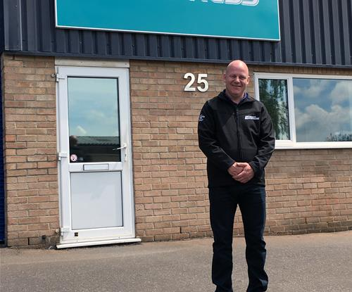 Richard Morris, new owner of Signs Express (Bournemouth & Poole)