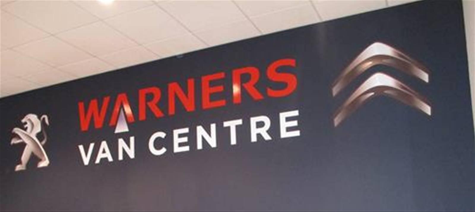 Warners wall graphics