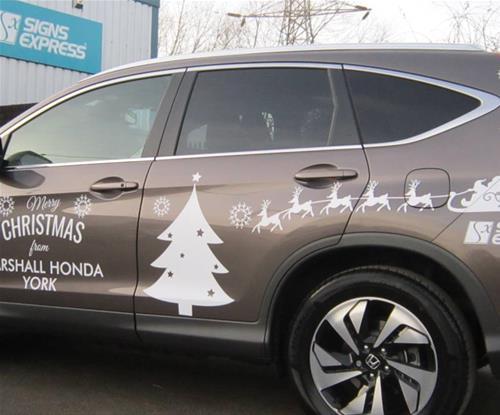 Marshall Honda York and Signs Express