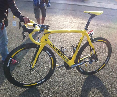 2012 - Wiggins winning wheels