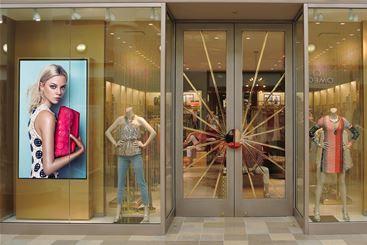 Digital Screen in Retail Store