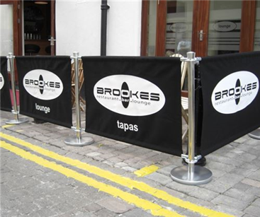 Cafe Barriers