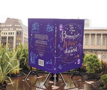 Giant book replica