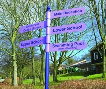 Directional Signage in Education
