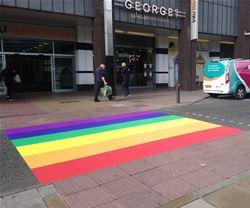 Nothern Pride Crossing Newcastle