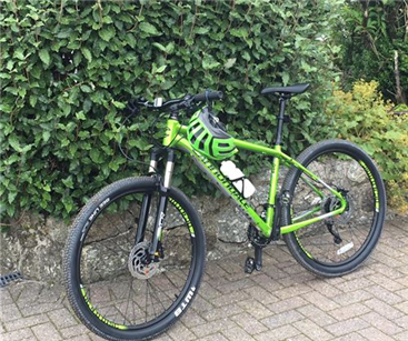 Got bike and helmet - Ready to go!!