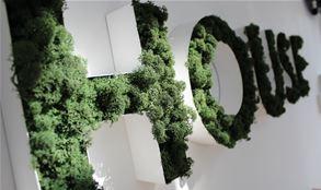 Moss Lettering Logo